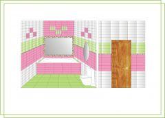 плитка FRESH Marazzi (проект графика)