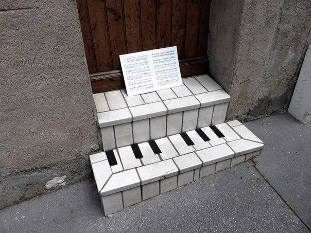 ступени клинкерные - рояль на входе!