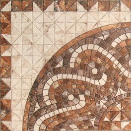 керамогранит с эффектом мозаики - розетон