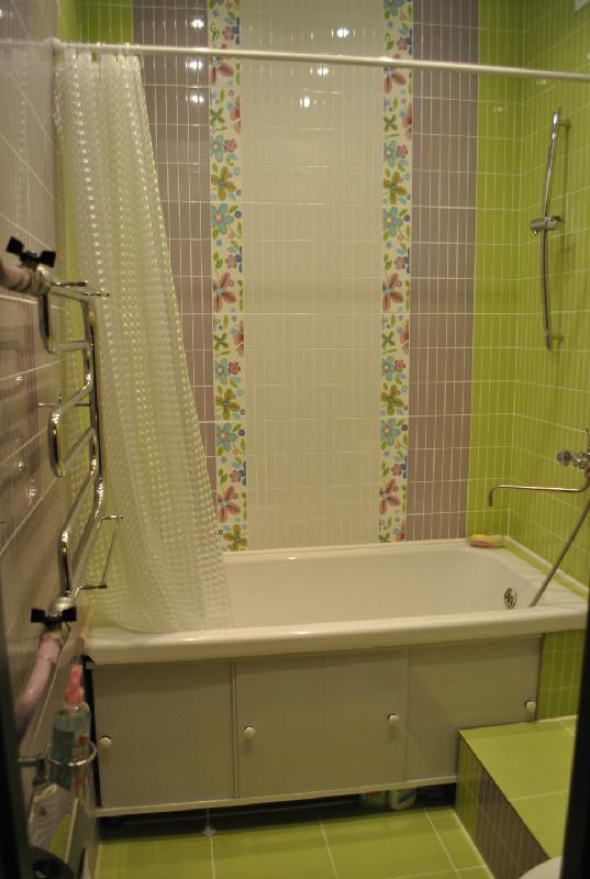 ванная готовый проект