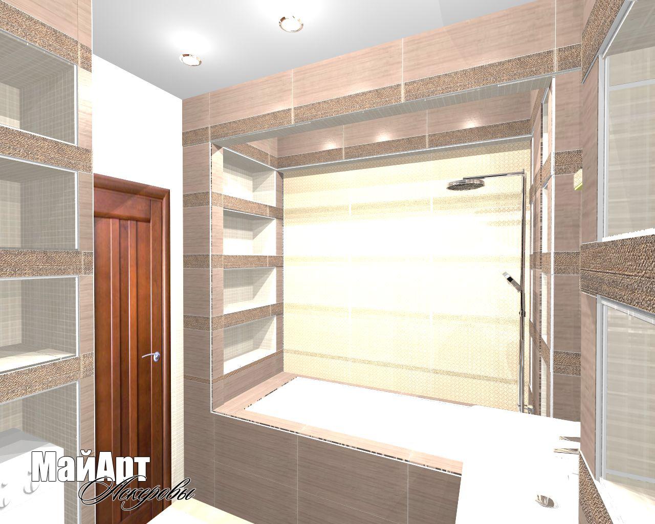 Дизайн - проекты ванных комнат