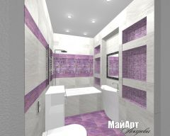 дизайн ванной Митино