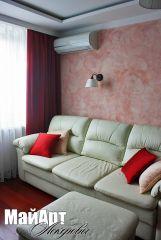 ремонт гостиной на Войковской