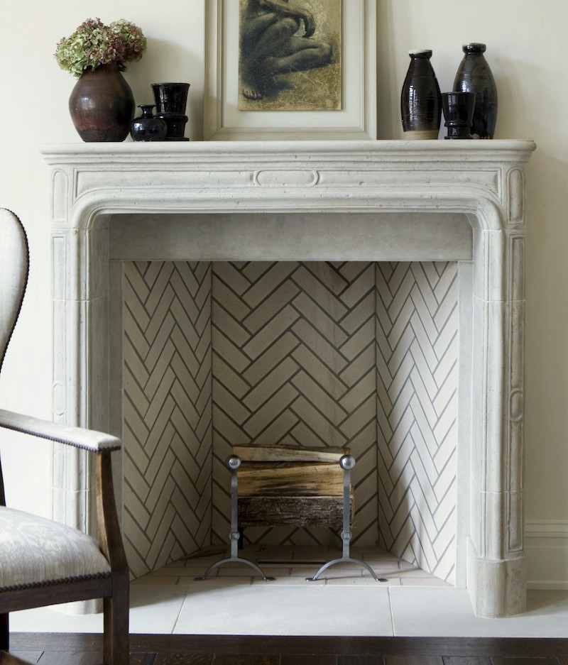 phoebe howard stone mantel