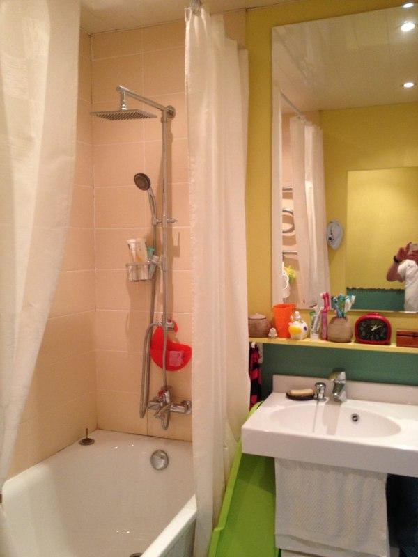 ванная из туалета