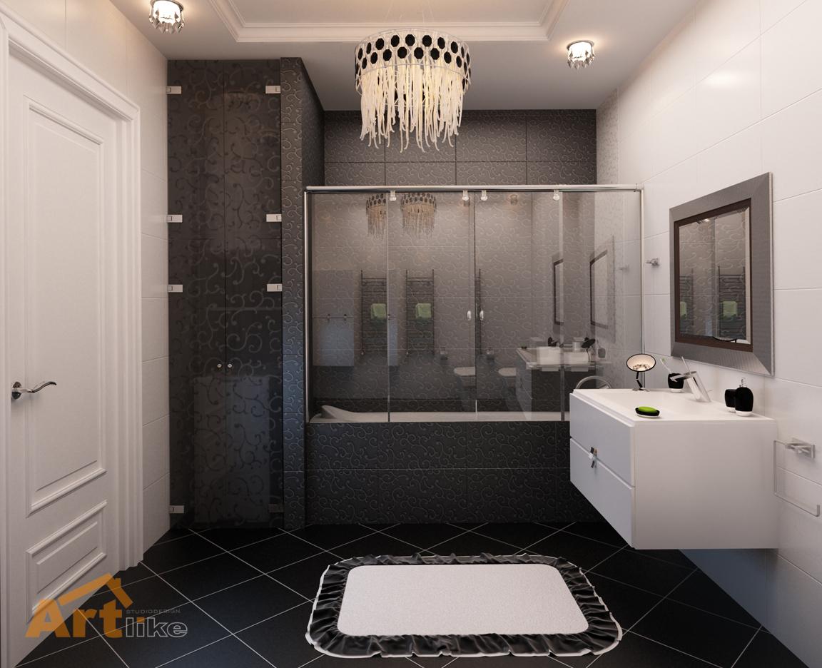 Ванные комнаты .