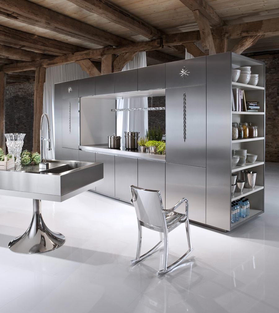 Нержавеющая сталь в интерьере Интерьер и Дизайн вашего дома