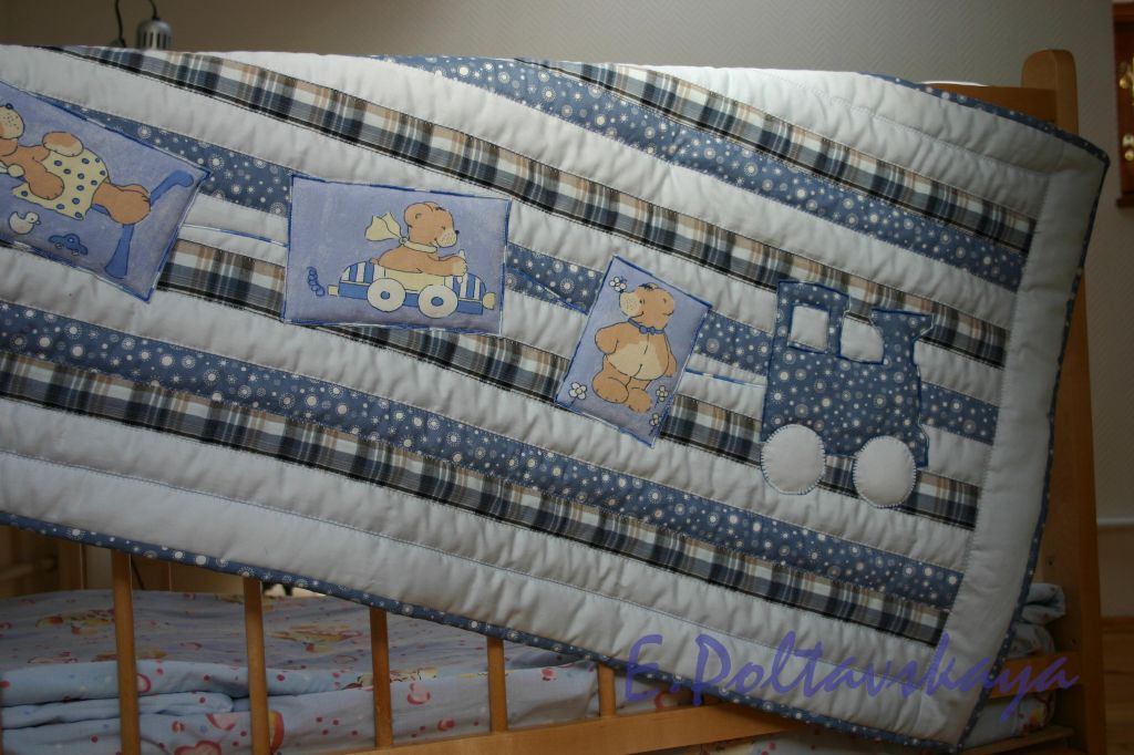 Ватное одеяло своими руками 59