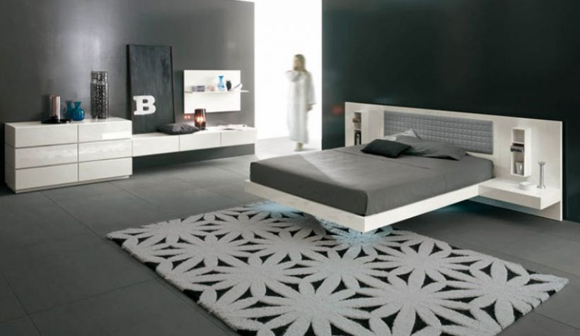 Кровать своими руками в стиле минимализма