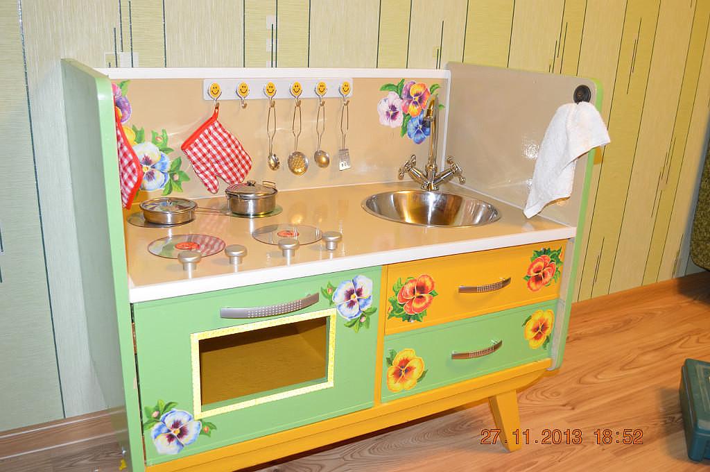 """Детская кухня из старой мебели"""" - карточка пользователя zano."""