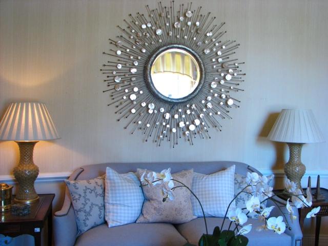 Круглое зеркало декор своими руками