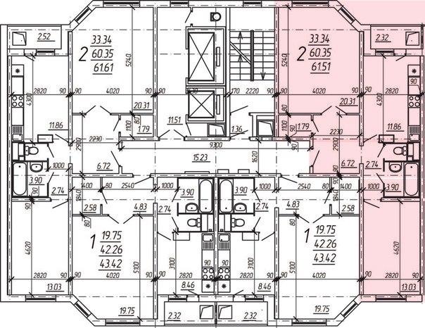 Ип-46с из двушки в трешку возможно? - перепланировки - форум.