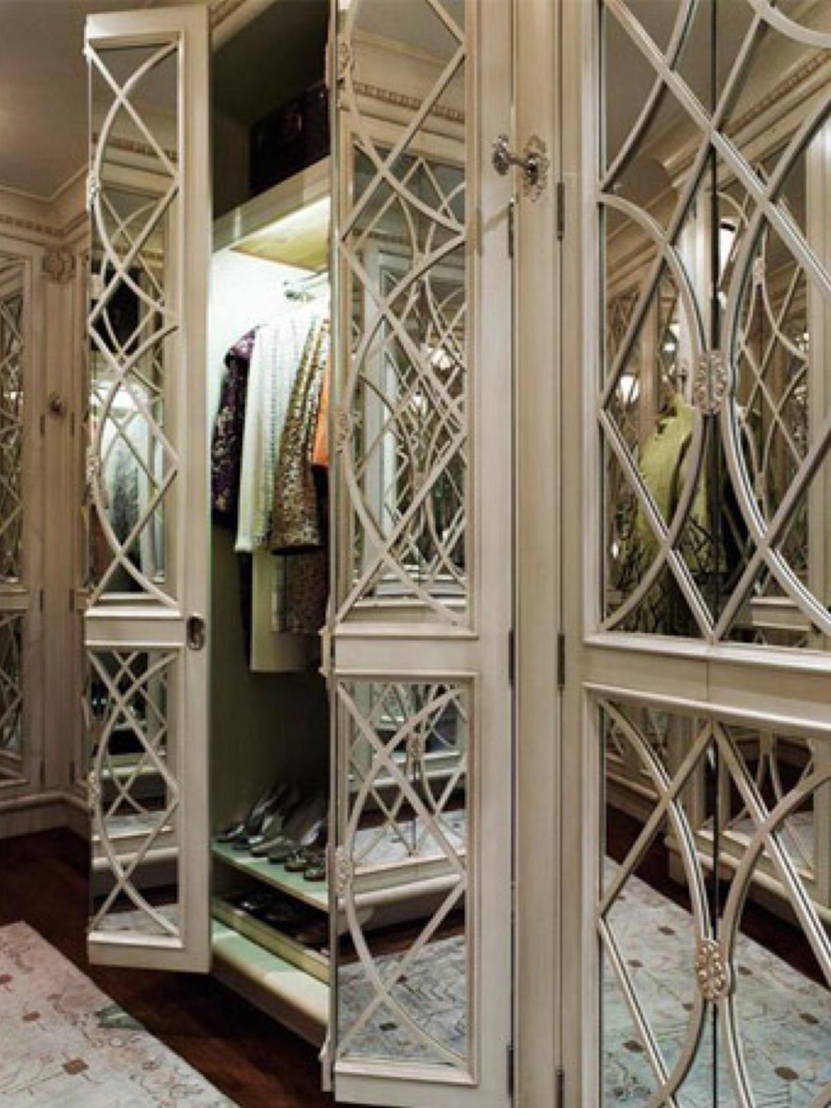 Зеркальные гардеробные: игра отражений фотогаллереи гардероб.