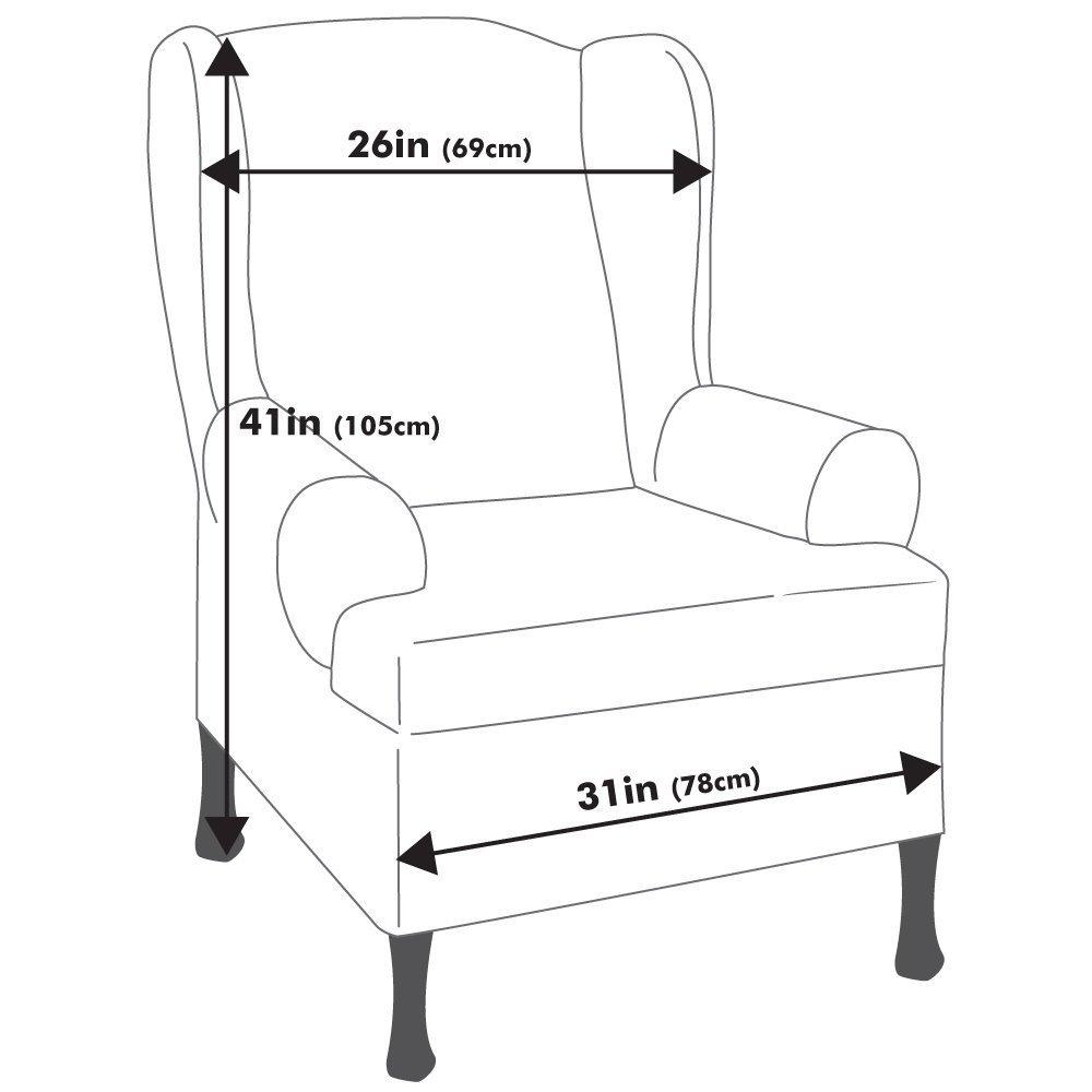 Английское кресло с ушами своими руками с размерами 34