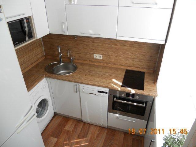 Дизайн кухни 6 кв м фото с холодильником и стиральной машиной