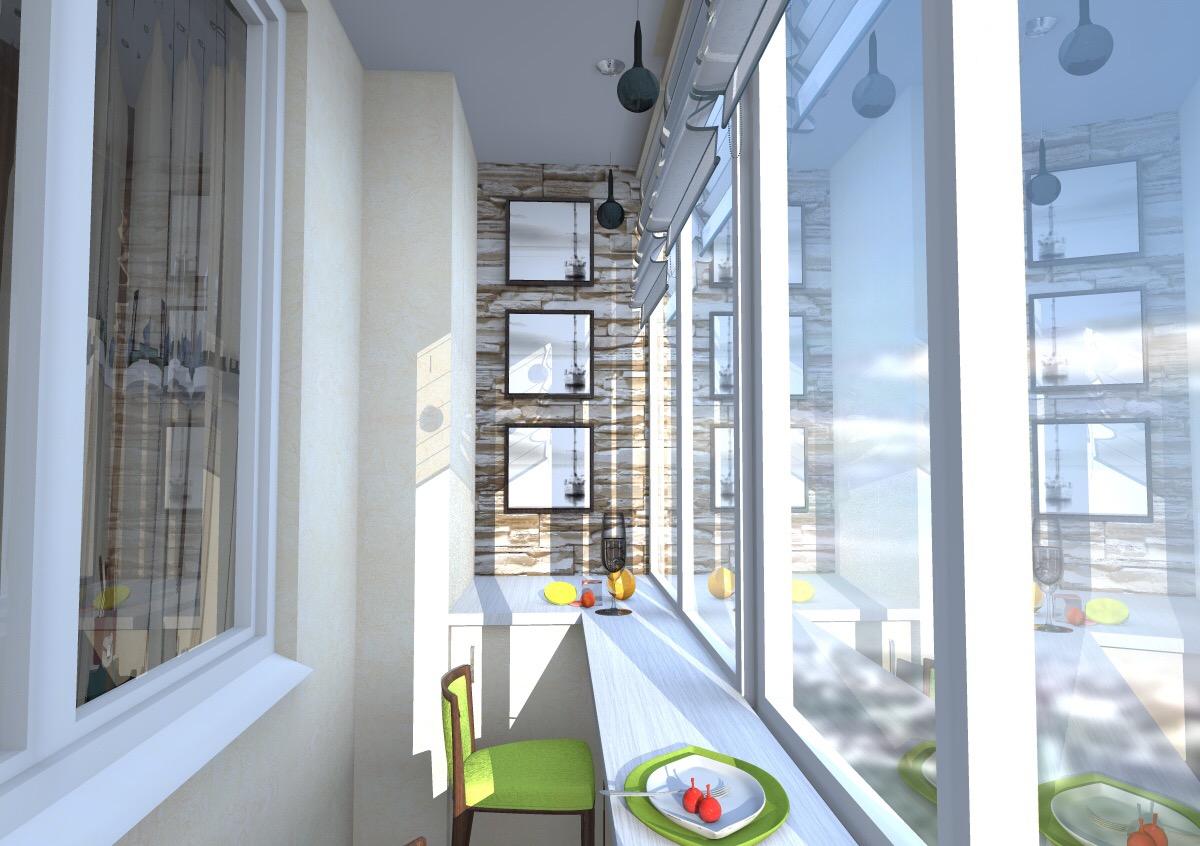 Кухня с барной стойкой у окна - дизайн кухни - форум о строи.