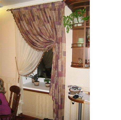 повесим шторы красиво фото