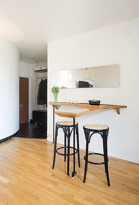 Столики для маленькой кухни: супер-коллекция творческих идей.