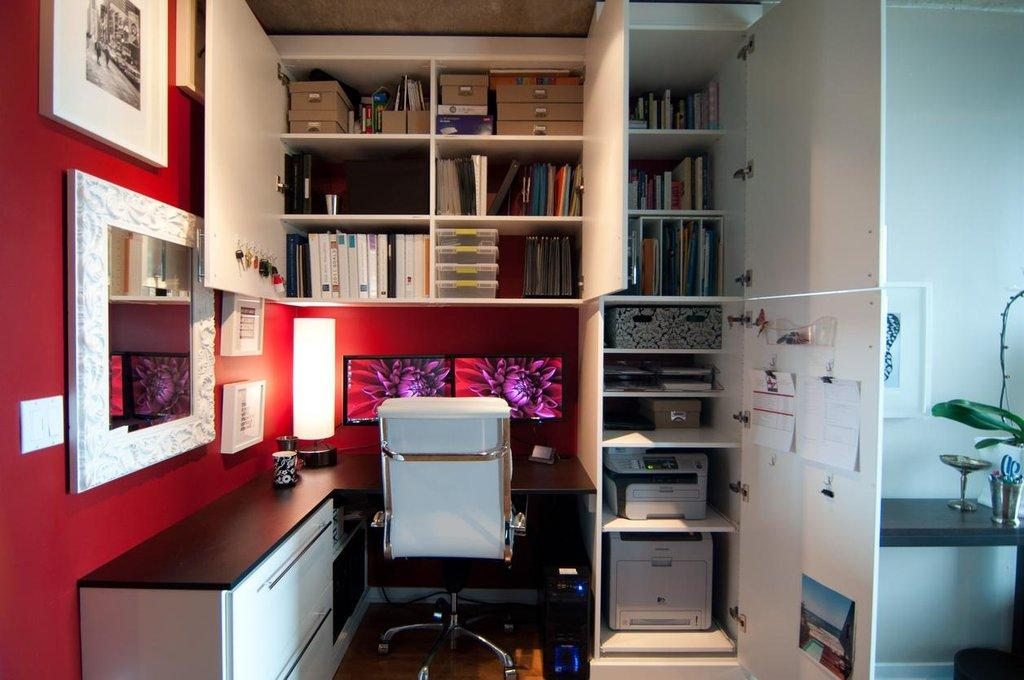 Гостиная-кабинет на белом фоне - страница 14 - дизайн интерь.