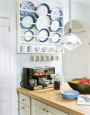 Кухня с полками своими руками фото