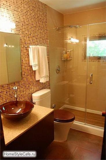 Дизайн маленькой ванны Фото и идеи