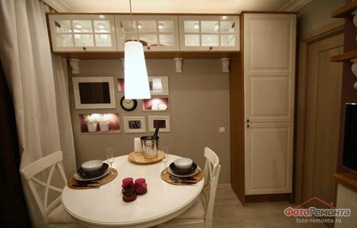 Дизайн стола кухни 9 кв м
