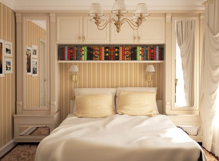 Ремонт спальни дизайн 9 метров