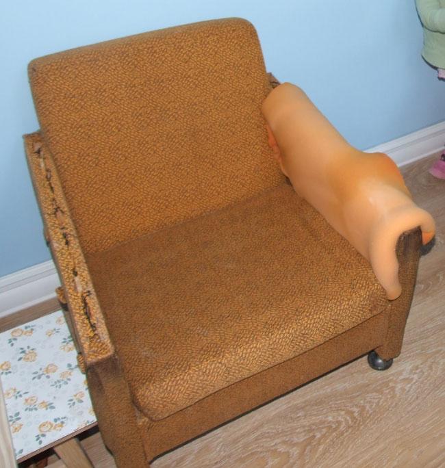 Как перешить кресло