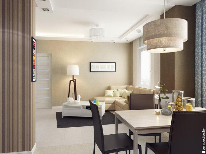 Квартира в светлом дизайн