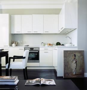 Дизайн кухни гостинной 17 кв м