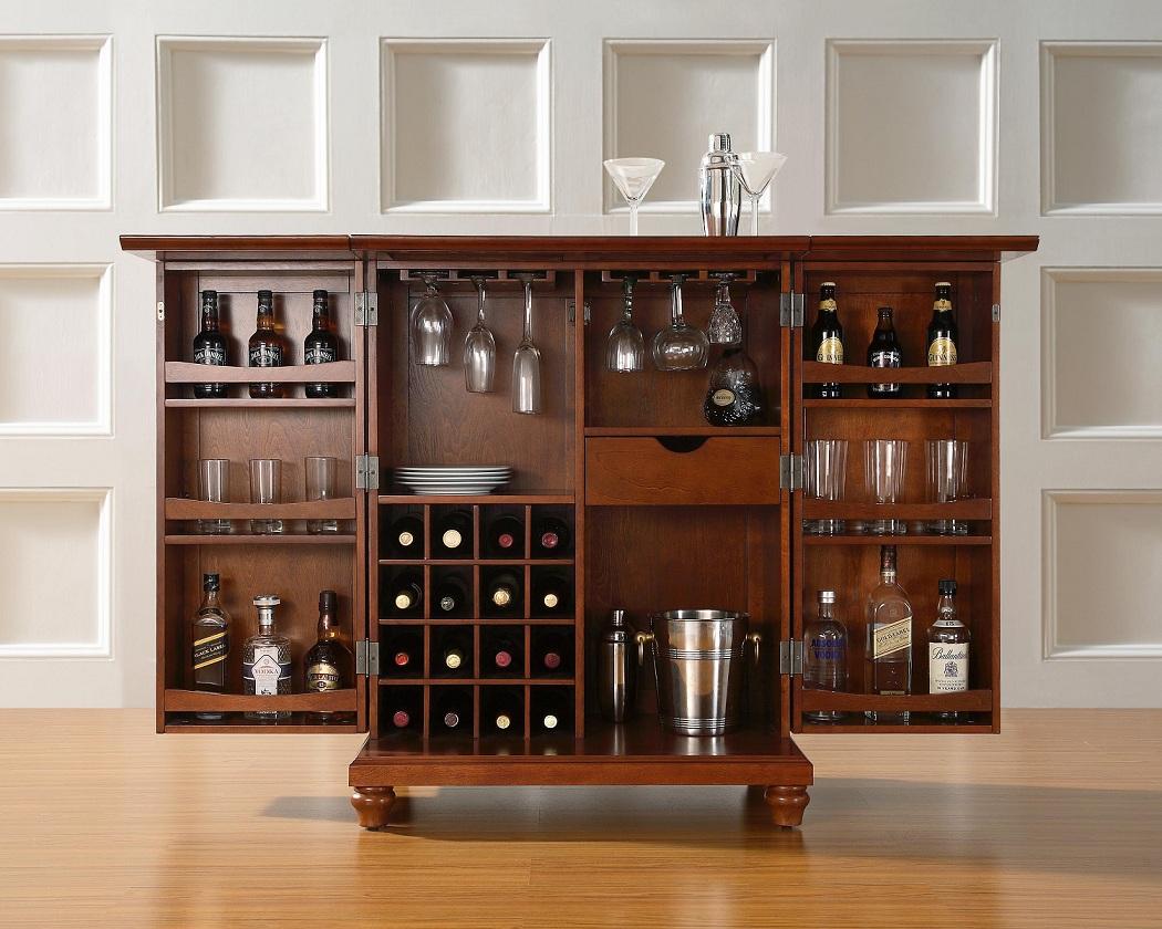 Шкаф с баром своими руками
