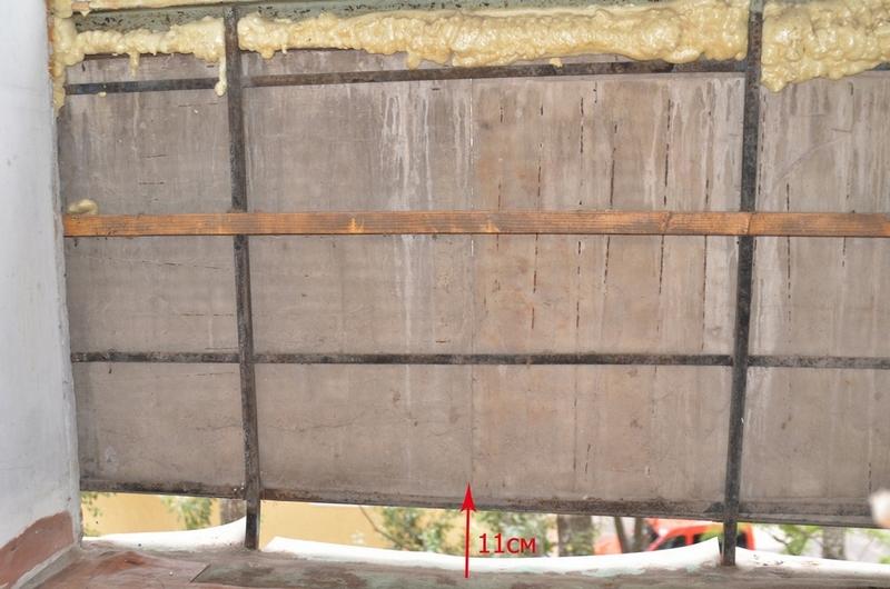 Чем закрыть щели на балконе? - материалы и конструкции - фор.