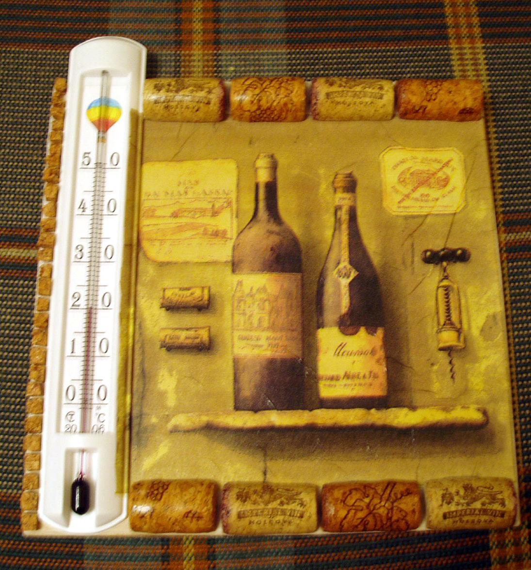 Рамка из винных пробок своими руками