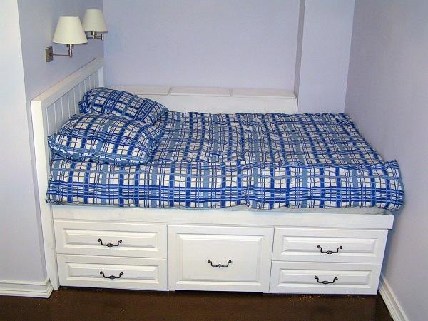 Кровать высокая своими руками