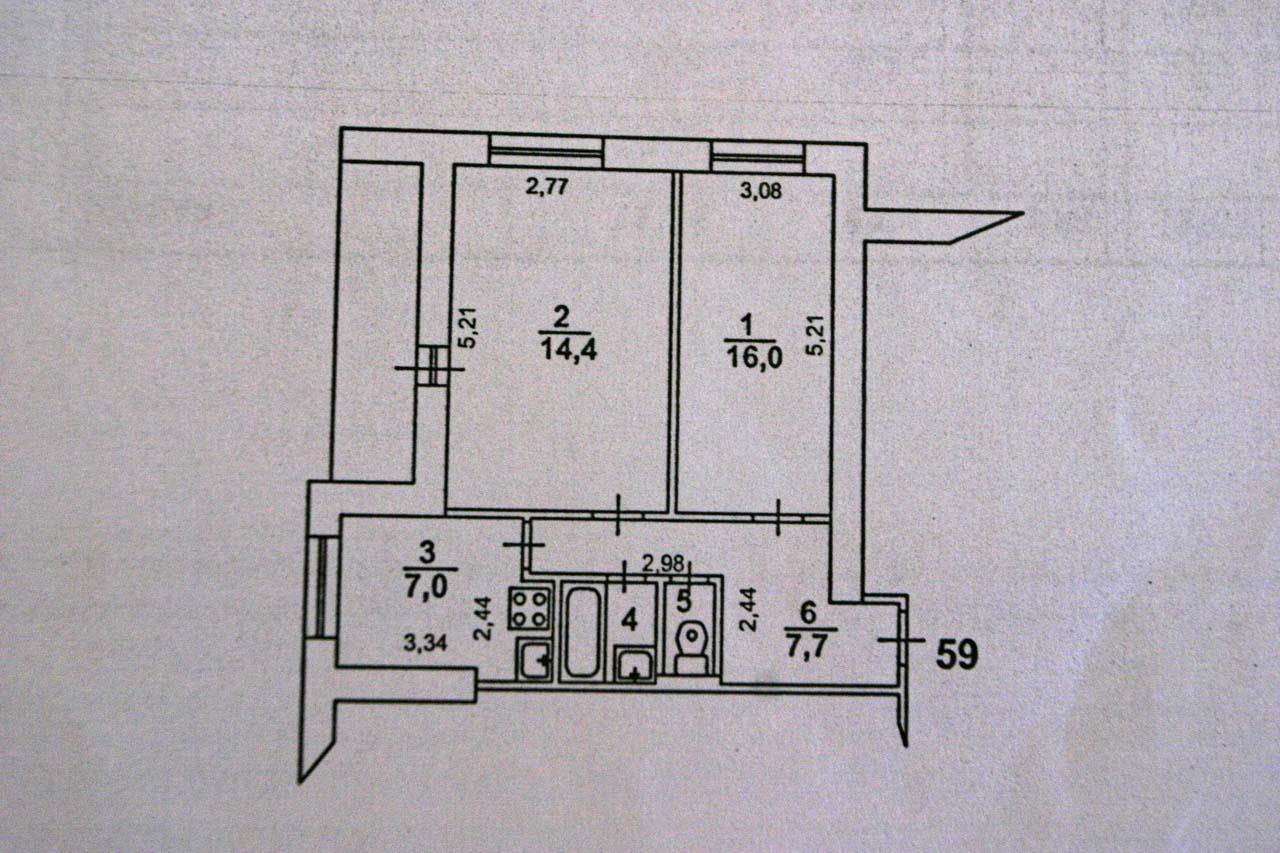 Перепланировка 2 ком 49 кв м - перепланировки - форум о стро.