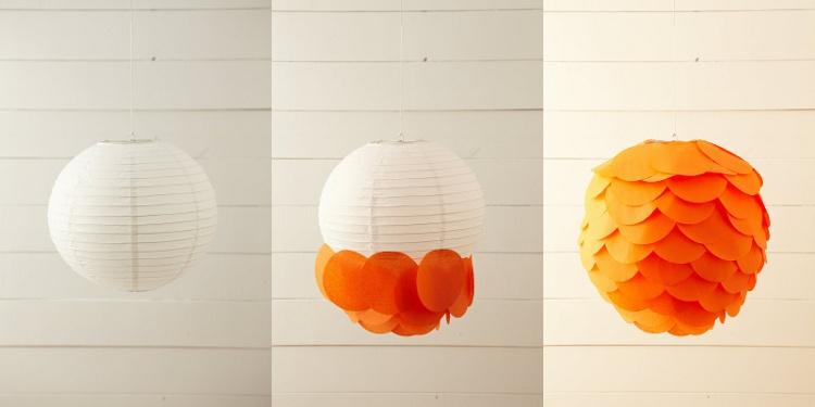 Светильник шар своими руками из бумаги