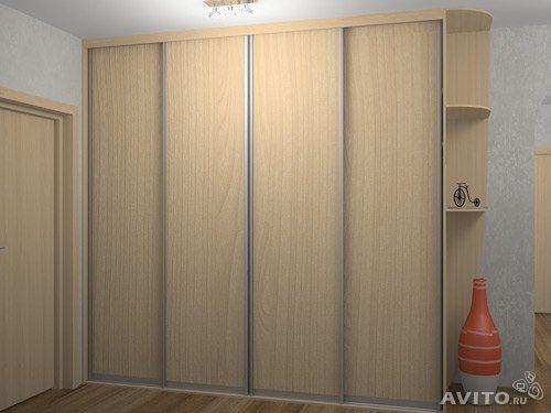 Двери лдсп для шкафов-купе - образцы, фото, примеры.