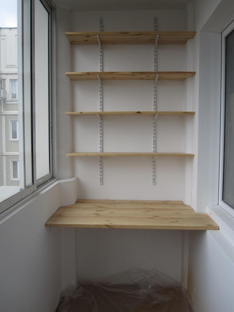 Как сделать полки для рассады на балконе своими руками.
