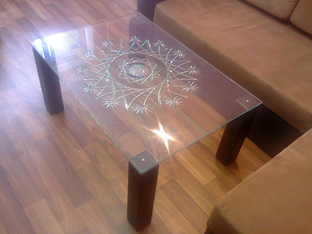 Сделать своими руками стеклянный стол 386