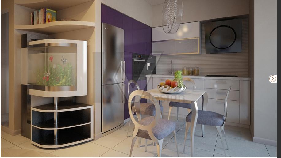 Дизайн кухни с балконом и диваном дизайн кухни - фото, описа.