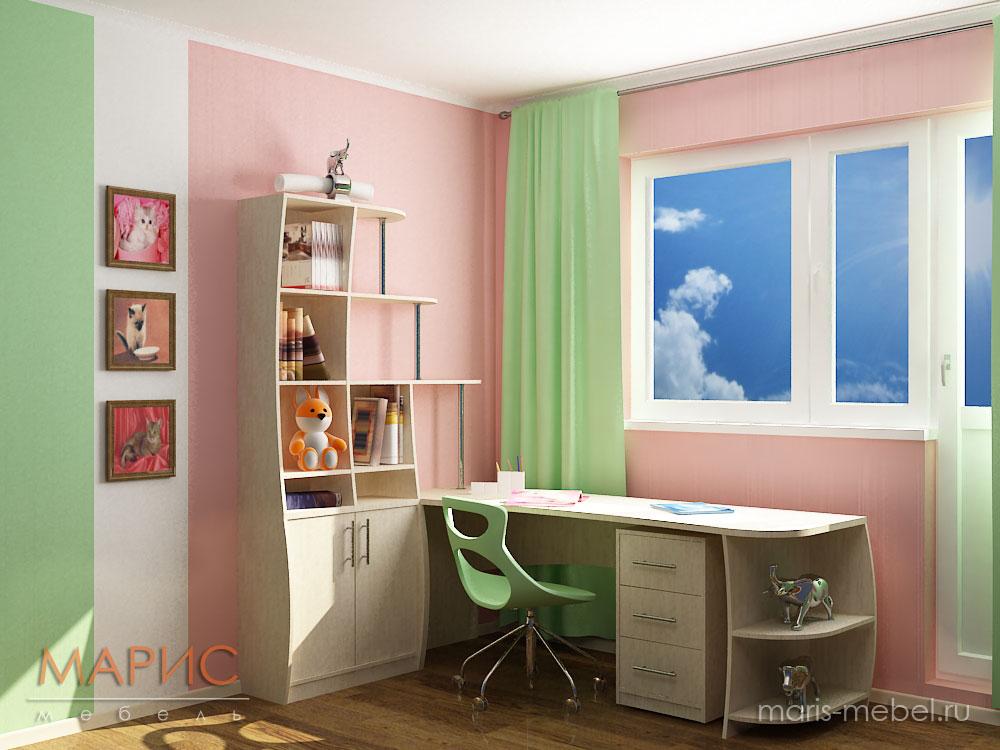 Супер-комната для двух сестричек !! - детская комната - фору.