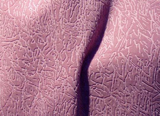 Флок может имитировать множество тканей - велюр, кожу