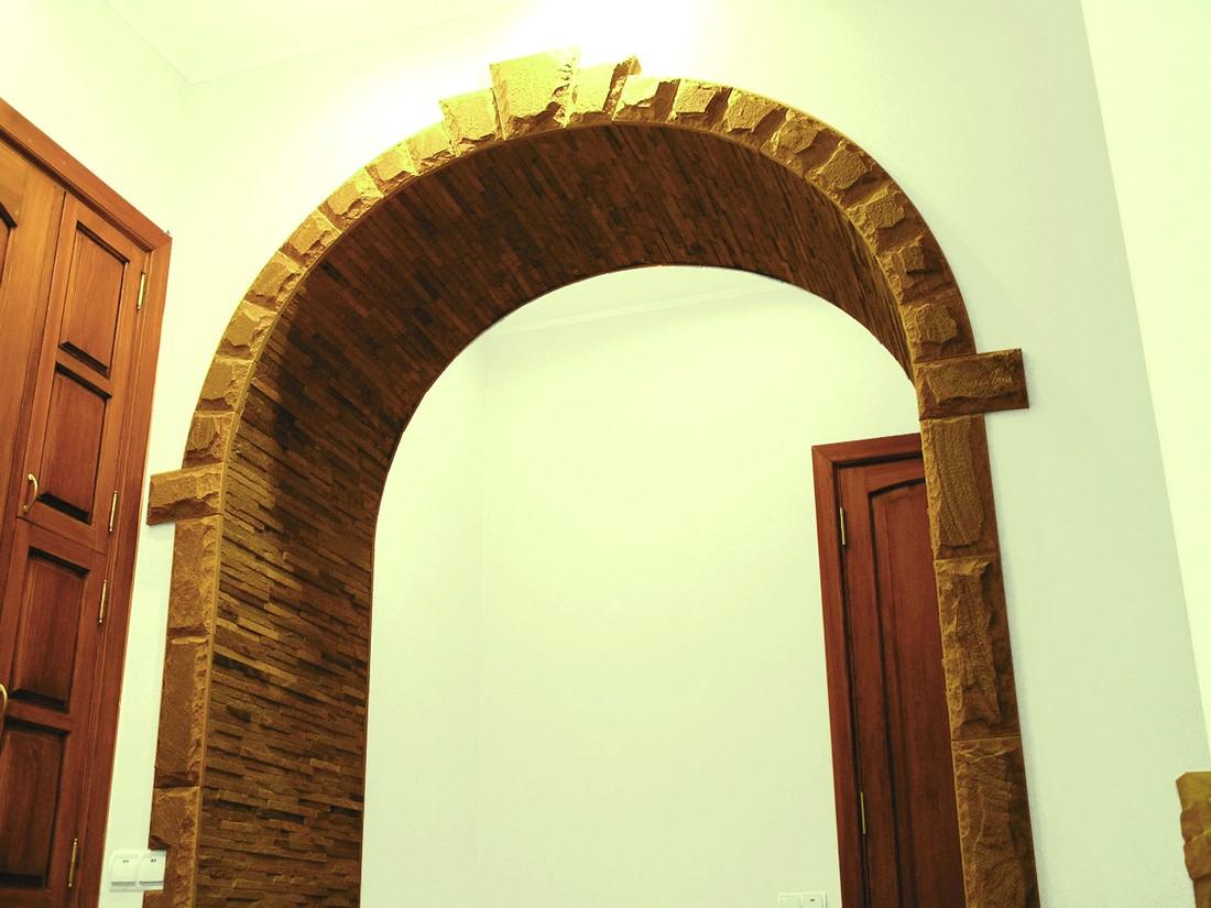 Облицовка арки своими руками