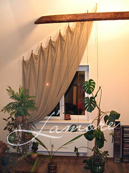 Карнизы для штор для скошенных окон
