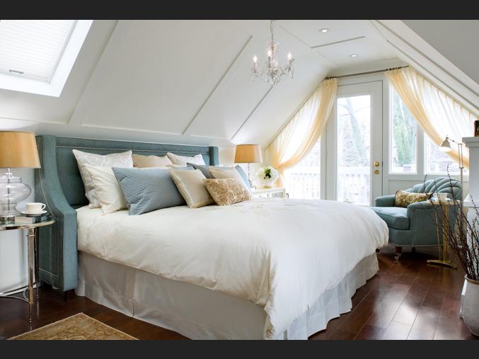 спальня на крыше дома дизайн фото #11