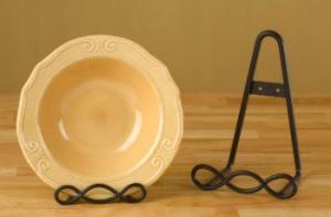 Как сделать подставки для декоративных тарелок
