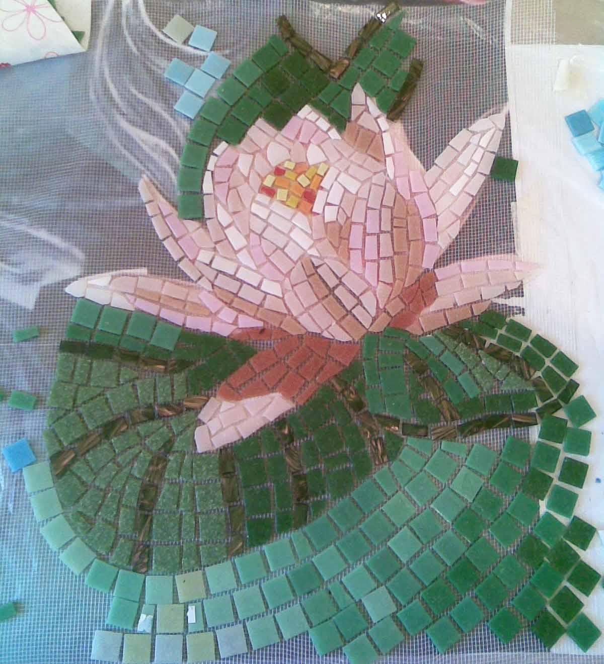 Как сделать мозайку своими руками