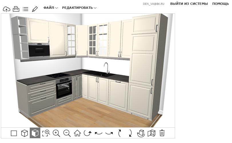 Вопрос по кухне икеа - запутались с планировкой-5