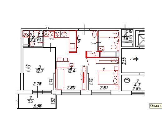 Совмещать кухню с комнатой или нет