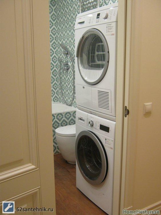 Подскажите по подключению сушильной и стиральной машины-2